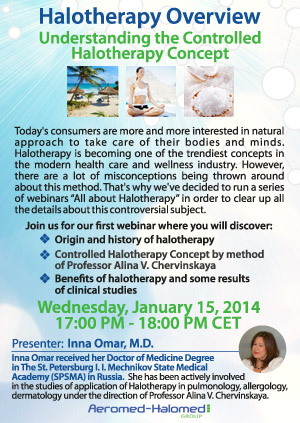 Webinar on halotherapy